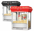 GNP Foundation Popcorn Machine 6 oz Popcorn Popper 6 Ounce Top Red or Black