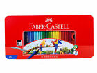 Assorted 24/36/48/60/72 Colors Faber-Castell Water Color Pencils Tin Case Set