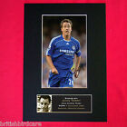 JOHN TERRY (CHELSEA) Autograph Mounted Photo REPRO QUALITY PRINT A4 39