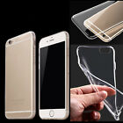 TPU Crystal Silicone Soft Clear Gel Cover Case for iPhone 5/5s 4/4s 6/6s 6plus