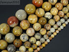 Natural Crazy Lace Agate Gemstone Round Beads 15.5'' 4mm 6mm 8mm 10mm 12mm