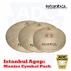 "Istanbul Agop Mantra Cindy Blackman Cymbal Pack: 15"" Hats/20"" Crash/22"" Ride"