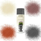 Rust-Oleum Natural Effects Textured Multi-Purpose Spray Paint Grey Red Bronze...