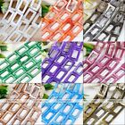 20*30mm Natural MOP Shell Rectangle Loose Charm Beads Fashion Jewelry Findings
