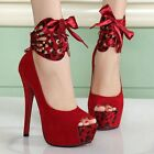 New Fashion Womens Shoes Stiletto High Heel Sandals Open Toe Bride Wedding Shoes