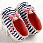 NEW Non-slip Baby Toddler Boy Girl Casual Stripe/Stars Shoes Toddler Infant #FK8