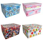 LARGE CLOTHES LAUNDRY BEDDING TOY BOOK STORAGE BOX BAG CHILDRENS KIDS CHEST