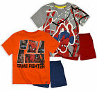 Boys Spiderman T-Shirt Shorts PJ Set New Kids Marvel Superhero Pyjamas 3-8 Years