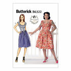 Butterick 6322 Easy Sewing Pattern to MAKE Misses' Dress w/ Bias Edging Detail