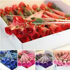 1/5pcs Artificial Rose Flower Soap Valentine Wedding Party Valentine Gift Decor