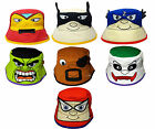 Kids Sun Hats Baby Toddler Superhero Face Design Bush Boys Girls Summer Cap New