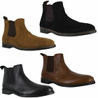 Mens Red Tape Newton Smart Pull On Leather Dealer Ankle Boots Sizes 7 to 12