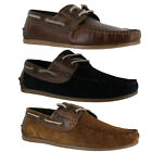 Mens Red Tape Stratton Smart Casual Leather Lace Up Boat Shoes Sizes 7 to 12