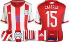 *2015 - ADIDAS ; PARAGUAY HOME SHIRT SS / CACERES 15 = SIZE*