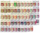 *SASSY+CHIC 12pc Fashion Nails FUN & EASY Glue/Press-On NEW *YOU CHOOSE* 2/10