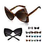 Unique Big Lens Resin/Abs Bowknot Shape Sunglasses Plastic Frame Glasses