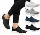 Ladies Womens Flat Running Jogging Skater Fitness Gym Sports Trainers Shoes Size