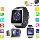 Unlock Bluetooth Smart Wrist Watch GSM SIM Card For Android Smart Phone W/Camera