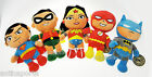 Peluche Originali Batman V Superman Wonder Woman Robin Flash DC Comics 30 cm