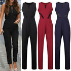 Women Sexy Sleeveless Bandage Bodycon Evening Party Dress Jumpsuits Clubwear New