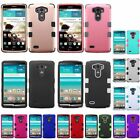 For LG G3 Hybrid Impact Rugged Rubber Shockproof Hard Protective Case Cover Skin