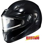 HJC CL-Max ll BT Solid Electric Snowmobile Helmet Solid Black S-5XL