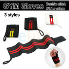 Weight fitness GYM Gloves Training Wrist Support  workout exercise Wraps Sport