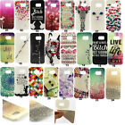 Cute Pattern Printed Soft Rubber Gel Back Case Cover For Samsung Galaxy Phones