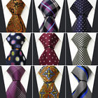 20  40  60 PCS Extra Long Silk Mens Neckties Free Shipping Wholesale Assorted