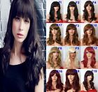 "19"" Frame-face Wig Stylish Full Head Wigs Party Hair Women Wig Heat Resistant"