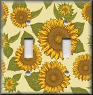 Floral Home Decor - Light Switch Plate Cover - Sunflowers