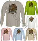GRAPHIC PRINTED LONG SLEEVE T-SHIRT OF BAG IT TAG IT WHITETAIL DEER HUNTING GEAR