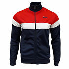 Fila Men's Lecce Retro Track Top Tracksuit Jacket Chinese Red