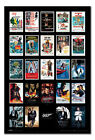 Framed James Bond 007 Movie Posters Including Spectre Poster New $159.0 USD