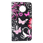 Stand Flip Leather Wallet Phone Cover Case For LG G6 G5 G4 Class Zero L50 L40