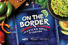 On The Border Gift Card $25 - $100 US Mail Delivery