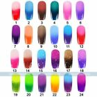 Temperature Change Color Soak Off Nail Art UV Gel Polish Glitters DIY Decoration