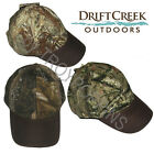 1-DRIFT CREEK OUTDOORS HEADWEAR-YAKUTAT CAMO HAT HUNTING FISHING GEAR GOLF WEAR
