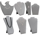 MODERN STEEL GREY NECKLACE DISPLAY NECKLACE EASELS TRAVELLING DISPLAY STAND DEAL