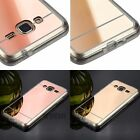 For Samsung Galaxy Phones Hybrid Hard Slim Rose Gold Case Cover J3 Express S7