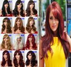 "19"" Wavy Curly Natural Wig Stunning Full Head Wigs Party Hair Wig Heat Resistant"