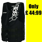 O' Brien Neoprene Buoyancy Vests - Black Jetski PWC Boat Wakeboard Waterski