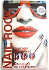 Nail Rock Designer Nail Wraps Foils Nail Art -Lasts up to 10 days - Union Jack
