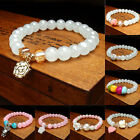 Fashion Women's Candy Color Round Crystal Bracelet Beads Bangle Superior Gift
