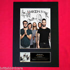 MAROON 5 Autograph Mounted Signed Photo RE-PRINT A4 125