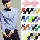 Classic Adjustable Satin Men Tuxedo Classic Novelty Wedding Bow Tie Necktie