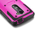 Heavy Duty Rugged Shockproof Cover Case For LG Leon LTE/Sunset L33L/Risio H343
