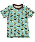 BNWT Boys Maxomorra Astronaut Short Sleeved T-Shirt NEW Organic Cotton Top