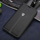 XUNDD Luxury Flip Leather Cover Case For Samsung Galaxy S5 S6 J5 A8 Note 3 4 5