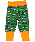 BNWT Baby Boys Maxomorra Retro Car Baby Trousers NEW Organic Cotton Pants